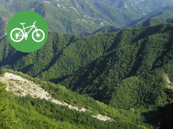 Percorsi in mountain bike in romagna girohotels cesenatico - Mtb bagno di romagna ...