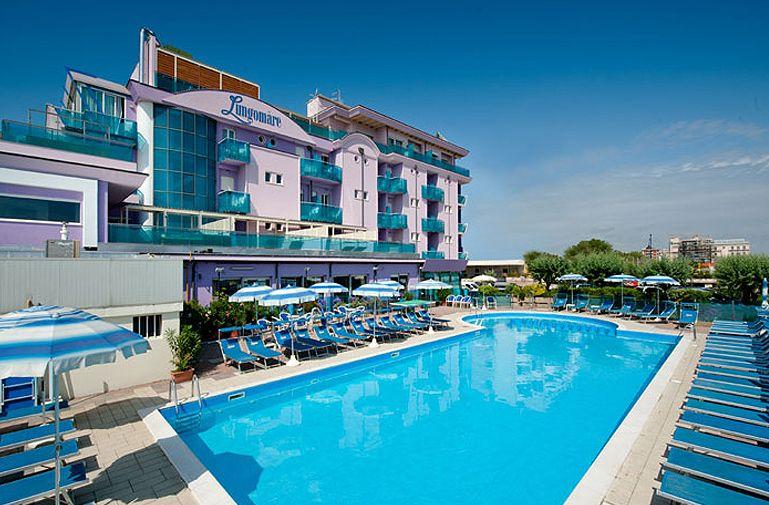 Hotel lungomare villamarina di cesenatico girohotels - Hotel cesenatico con piscina ...